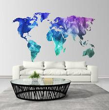 CD0023 Adesivo murale Arredo Casa Wall Art Mondo di colori 160x100 cm
