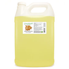 1 Gallon Sweet Almond Carrier Oil (100% Pure & Natural) Plastic Jug