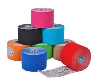 16x Rollen x 5M Kinesiologie div Farben Tape Tapes Klebeband Sporttape Sport