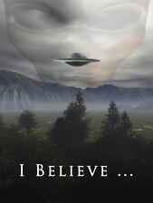 "05 I Want To Believe - X Files Art Movie Film UFO 14""x19"" Poster"