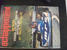 **o Revue échappement n°93 Rallye Mont Blanc / Escort 1300 et 2000 RS