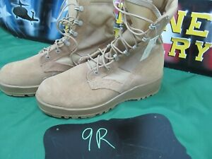 Combat Boot Desert Tan NEW Hot Weather Military Issue