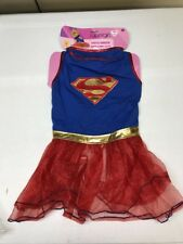 Supergirl Tutu Dress Large Dog Costume Rubies 580324