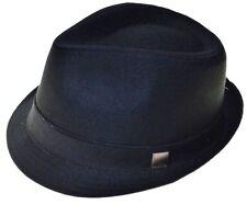 Black Basic Demanded Fedora Hat Youth Size Cap-8~20-sm(hatter)