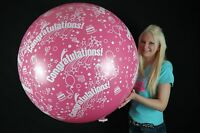 "1 x Unique 36"" Riesenluftballon CONGRATULATION *Globos*"