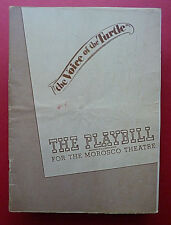 1947 Playbill ''The Voice of the Turtle'' w/Phyllis Ryder, Morosco Theatre, N.Y.