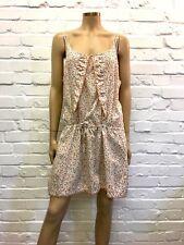 Terre De Marins 100% Cotton Floral Summer Dress French Size 46