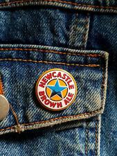 Newcastle Brown Ale - Small Button Badge - 25mm diam
