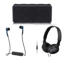 3-Pack Paquete de audio portátil electrónica de Regalo Auriculares Bluetooth Altavoz Sony