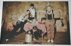 """RED HOT CHILI PEPPERS x4 Hand Signed HUGE 12""""x18"""" Photo From 2013 Australia Tour"""