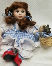 Rare NIB Marie Osmond Dorothy Tiny Tot Porcelain Doll Wizard of Oz Discontinued