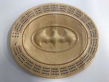 3D Batman Logo Cribbage Board