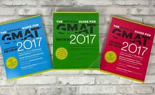 The Official Guide for GMAT Review 2017 3 Book Set