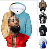 Nipsey Hussle Sweatshirt Songwriter American Rapper Crenshaw Adult Hooded Tops