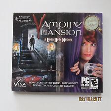 NEW SEALED Vampire Mansion PC Game Windows 7/Vista/XP hidden object puzzles