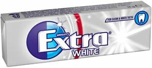 Wrigley's Extra Ice White Sugar free Chewing Gum 10 pieces Pack of 30
