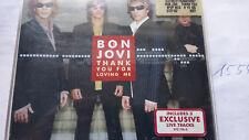 CD BON JOVI     thank you for loving me
