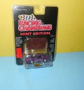 1:60 Scale Racing Champions MINT Edition 1996 Pontiac Firebird #8 Purple