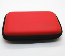 Red Hard Case Protective Carry Cover Bag Pouch For Nintendo 3DS, NDSI, NDSL