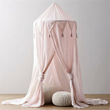 Children Nursery Decor Chiffon Cot Canopy Dome Net Hanging Curtain Princess Tent