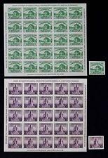 Scott US 730 730A 731 731A 735 735A Souvenir Sheets, MNH, XF, SCV: $52