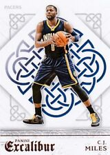 C. J.Miles 2015-16 Panini Excalibur Basketball cartes à collectionner, #64