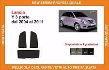 pellicola oscurante vetri lancia y 3 p dal 2004-2011 kit posteriore