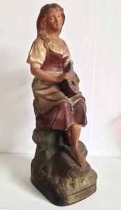 """Sculpture Terre cuite Femme intitulé """"MIGNON"""" Le Guluche 290"""
