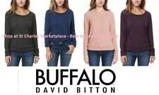NEW!! Buffalo Women's Long Sleeve Cozy Pullover Shirt Pick Color and Size, NEW