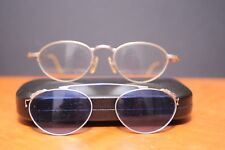 Vintage Japonism B7 col 2 prescrption lenses with matching blue clip on sunglass