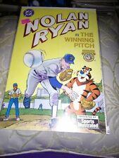 Nolan Ryan In The Winning Pitch, DC/Tony's Sports Comics, 1992, VF/NM