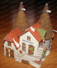 Bishops Oast House (Dept. 56 Dickens Village, 5567-0) Porcelain, Dated 1990