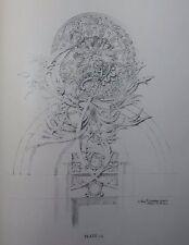Original 1.Ed. Louis Sullivan Complete A System of Architectural Ornament 1924