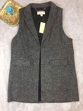 NWT Michael Kors Wool Blend Vest - Women's Size 14