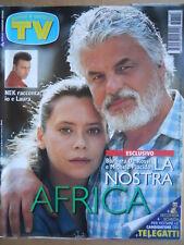 TV Sorrisi e Canzoni n°15 1997 NEK - Speciale Trailer Guerre Stellari  [C92]