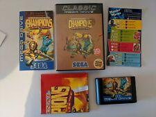## SEGA Mega Drive Eternal Champions Special Collector's Edition OVP KOMPLETT ##