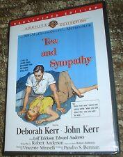 TEA AND SYMPATHY DVD,NEW & SEALED,STARRING DEBORAH KERR AND JOHN KERR,REMASTERED