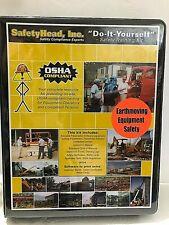 Earth Moving Equipment training OSHA safety training kit DIY DVD workbook & logs