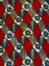Geoffrey Beene Diamond Multi Colored Design Necktie Neck Tie Sleeved  Silk USA