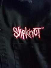 SLIPKNOT Double Sided Work Shirt Size Large