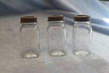 Vintage Atlas Mason Jar Small Glass Bank