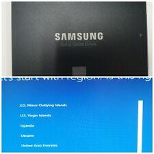 250gb SAMSUNG 850 EVO SSD w/ Windows 10 Pro 64 bit (Not Activated) Installed