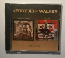 Jerry Jeff Walker - too old to change - 2 LP´s on 1 CD - 2003