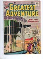My Greatest Adventure #16 DC KIRBY EARLY ART & SCI-FI!! 1957 VG/Fine 5.0