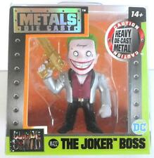 "Jada Toys The Joker Boss Gold Metal Die Cast 2.5"" Figure Suicide Squad DC M428"