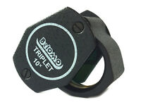 """BelOMO 10x Triplet Loupe Magnifier. 21mm (.85"""") NEW. BRAND.  Jewelry Instrument"""
