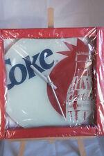 * Coca-Cola - COKE HORLOGE PENDULE MURAL EN VERRE NEUF 30 CM DE DIAMETRE 2008