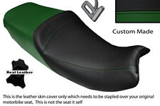 Black & Verde Oscuro personalizado se adapta a Triumph Trophy 900 1200 96-03 Doble Cubierta De Asiento