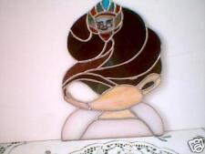 Stained glass suncatcher - Aladdin lamp