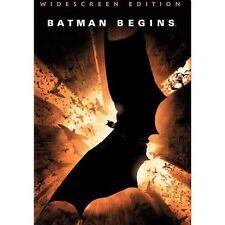 Batman Begins (Dvd, 2005, Widescreen) New